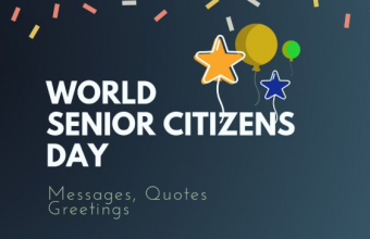 World Senior Citizens Day – 21st August International Senior Citizen Day 2019