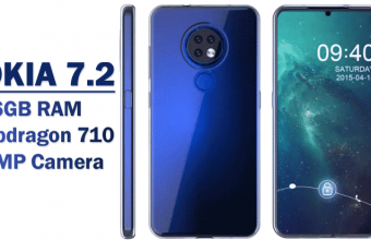 Nokia 7.2 Listing 6GB RAM Octa-Core SOC Android Pie Launch in Germany News
