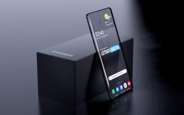 Samsung Transparent Concept Phone